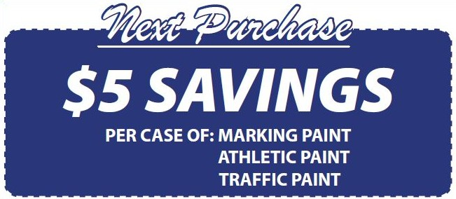 athletic fields marking paint Seymour-Paint-Coupon